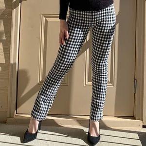 UO Black White Gingham Pants